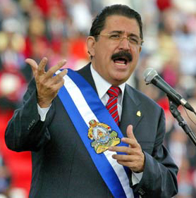 The Leader of Honduras, Now in Exile
