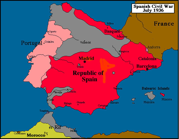 a history of spanish civil war The spanish-american war was an 1898 conflict between the united states and spain that ended spanish colonial rule in the americas and resulted in us acquisition of territories in the western .