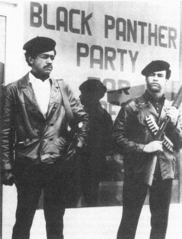 black panthers intimidating voters