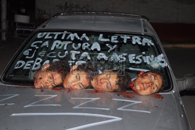 Mexico's Drug War - THE WRITERS FORUM - THE GRAFFITI DESTINATION
