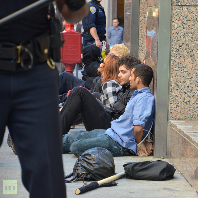 Dozens arrested at Anti-Columbus Day San Francisco protest