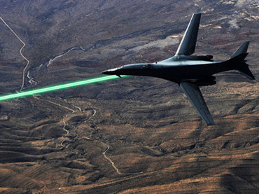 HELLADS in action (Image from www.darpa.mil)