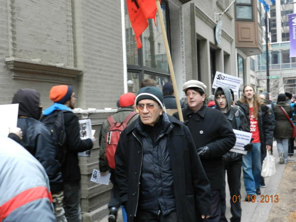 Speech & Photos from 19th of January Anti-Fascist Protest in