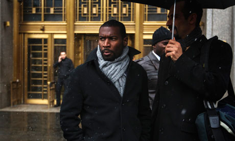 David Floyd is the lead plaintiff in the class-action lawsuit against the city of New York over its stop-and-frisk practices. Photograph: Lucas Jackson/Reuters