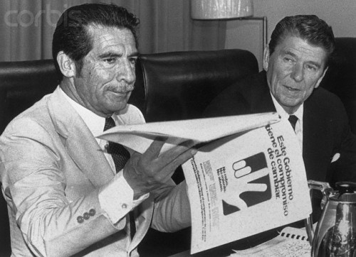 Efrain Rios Montt - Reagan