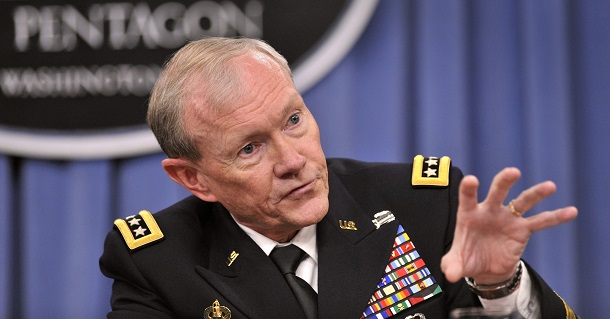 Chairman of the Joint Chiefs of Staff General Martin Dempsey (Alex Wong/Getty Images/AFP)