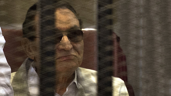 Egyptian former president Hosni Mubarak (AFP Photo / Khaled Desouki)