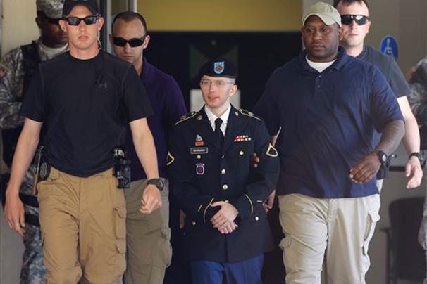U.S. soldier Bradley Manning