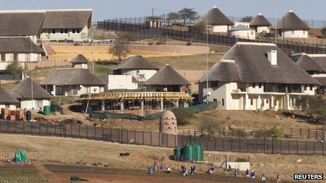 The improvements on President Zuma's private residence have been widely criticised