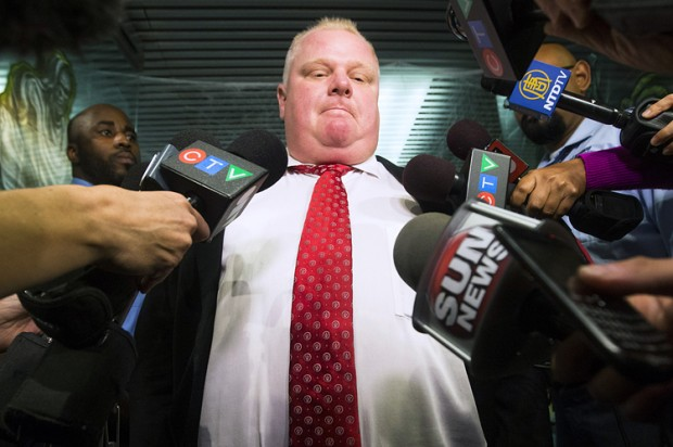 Rob Ford (Credit: Reuters/Mark Blinch)
