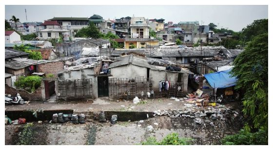 An urban slum in Hanoi, Viet Nam. (Photo: Flickr / United Nations / Creative Commons)